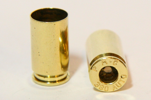 .380 Auto Brass Processed Casings
