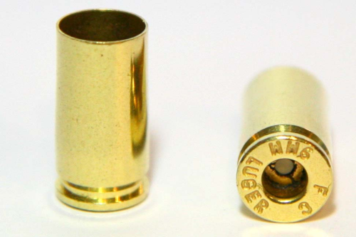 9mm Luger Brass Casings