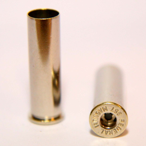 .357 Magnum Nickel Casings