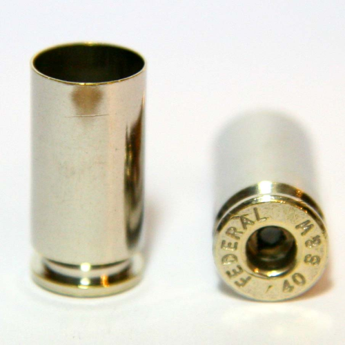 .40 S&W Nickel Casings