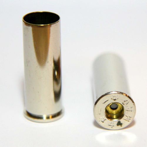 ,44 Magnum Nickel Casings