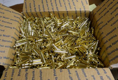 223 Remington Brass Casings 1600 Bulk