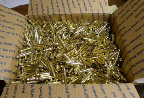 .223 Remington Brass Casings 1600 Bulk