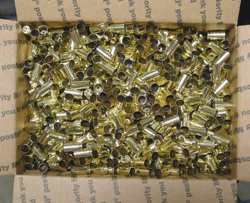 .40SW Brass Casings 2500ct Bulk