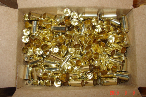 .40SW Brass Casings 500ct Unprocessed