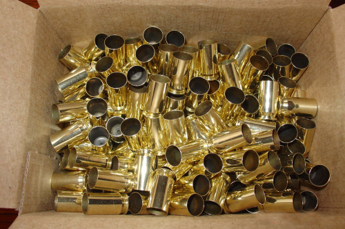 .45acp Brass Casings Large Primer 500ct Unprocessed
